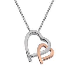 Støíbrný pøívìsek Hot Diamonds Love DP660