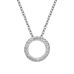 Støíbrný pøívìsek Hot Diamonds Love DP661