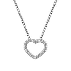 Støíbrný pøívìsek Hot Diamonds Love DP662