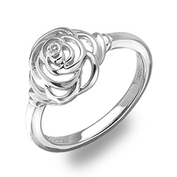 St��brn� prsten Hot Diamonds Eternal Rose Silver