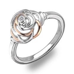 St��brn� prsten Hot Diamonds Eternal Rose