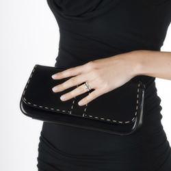 Obrázek è. 2 k produktu: Støíbrný prsten Hot Diamonds Feather