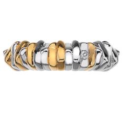 Obrázek č. 3 k produktu: Stříbrný prsten Hot Diamonds By The Shore Gold Large
