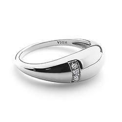 Obrázek è. 2 k produktu: Støíbrný prsten Hot Diamonds Belle