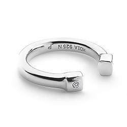 Obrázek è. 2 k produktu: Støíbrný prsten Hot Diamonds Lucky