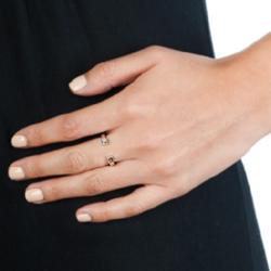 Obrázek è. 6 k produktu: Støíbrný prsten Hot Diamonds Lucky