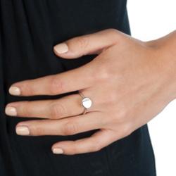 Obrázek è. 4 k produktu: Støíbrný prsten Hot Diamonds Silhouette Circle