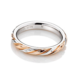 Obrázek è. 2 k produktu: Støíbrný prsten Hot Diamonds Breeze Rose Gold