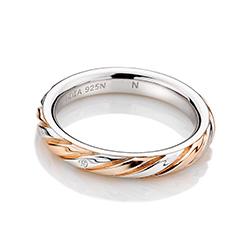 Obrázek è. 2 k produktu: Støíbrný prsten Hot Diamonds Breeze Rose Gold