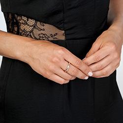 Obrázek è. 4 k produktu: Støíbrný prsten Hot Diamonds Breeze Rose Gold