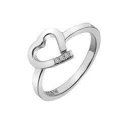 Støíbrný prsten Hot Diamonds Love DR194