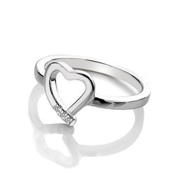 Obrázek è. 2 k produktu: Støíbrný prsten Hot Diamonds Love DR194