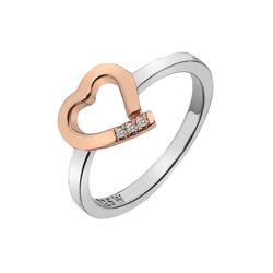 Støíbrný prsten Hot Diamonds Love DR195