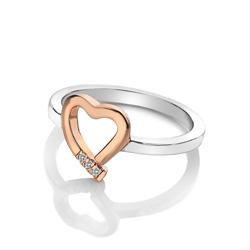 Obrázek è. 2 k produktu: Støíbrný prsten Hot Diamonds Love DR195
