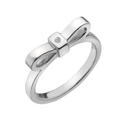 Støíbrný prsten Hot Diamonds Ribbon DR196