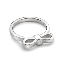 Obrázek è. 2 k produktu: Støíbrný prsten Hot Diamonds Ribbon DR196