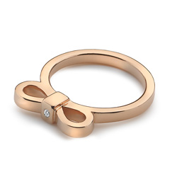 Obrázek è. 2 k produktu: Støíbrný prsten Hot Diamonds Ribbon DR197/K