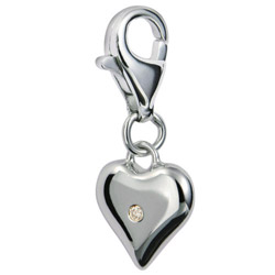 Pøívìsek Hot Diamonds Love Luck Happiness DT012