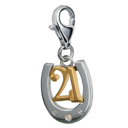 Přívěsek Hot Diamonds Love Luck Happiness DT045