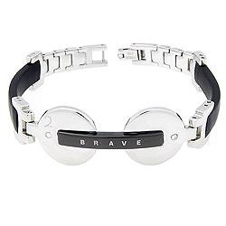 Náramek Due Brave Black08