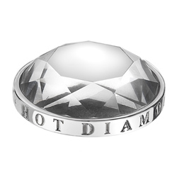 Pøívìsek Hot Diamonds Emozioni Ice Coin