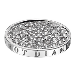 Přívěsek Hot Diamonds Emozioni Ice Sparkle Coin