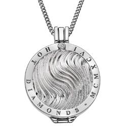 Obrázek è. 14 k produktu: Pøívìsek Hot Diamonds Emozioni Silver Wave Coin