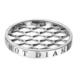 Přívěsek Hot Diamonds Emozioni Silver Weaver Coin