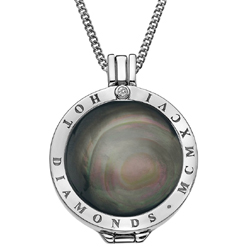 Obrázek è. 14 k produktu: Pøívìsek Hot Diamonds Emozioni Black Mother of Pearl Coin