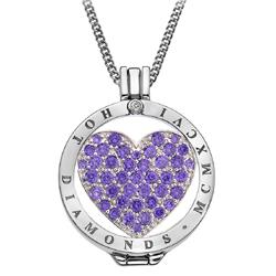 Obrázek è. 16 k produktu: Pøívìsek Hot Diamonds Emozioni Fantasy Sparkle Heart Mirage Coin