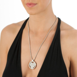 Obrázek è. 14 k produktu: Pøívìsek Hot Diamonds Emozioni Ice Sparkle Heart Mirage Coin