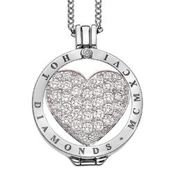Obrázek è. 16 k produktu: Pøívìsek Hot Diamonds Emozioni Ice Sparkle Heart Mirage Coin