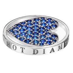 Pøívìsek Hot Diamonds Emozioni Azure Sparkle Heart Mirage Coin