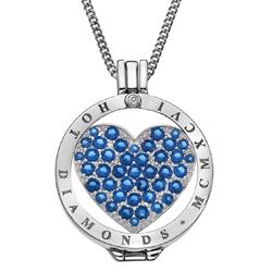 Obrázek č. 6 k produktu: Přívěsek Hot Diamonds Emozioni Azure Sparkle Heart Mirage Coin