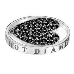 Pøívìsek Hot Diamonds Emozioni Midnight Sparkle Heart Mirage Coin