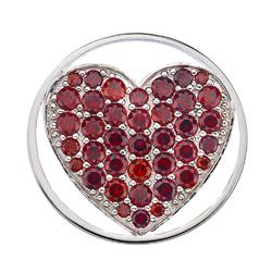 Obrázek č. 1 k produktu: Přívěsek Hot Diamonds Emozioni Fire Sparkle Heart Mirage Coin