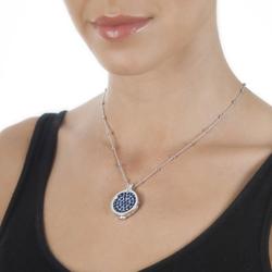 Obrázek è. 12 k produktu: Pøívìsek Hot Diamonds Emozioni Azure Sparkle Coin