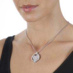 Obrázek è. 4 k produktu: Pøívìsek Hot Diamonds Emozioni Ice Sparkle Heart Mirage Coin