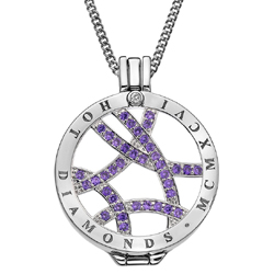 Obrázek è. 14 k produktu: Pøívìsek Hot Diamonds Emozioni Fantasy Sparkle Arc Coin