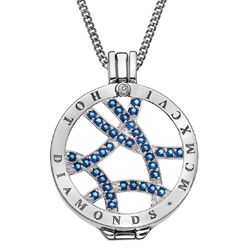 Obrázek è. 14 k produktu: Pøívìsek Hot Diamonds Emozioni Azure Sparkle Arc Coin