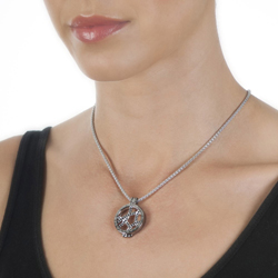 Obrázek č. 15 k produktu: Přívěsek Hot Diamonds Emozioni Midnight Sparkle Arc Coin
