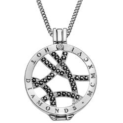 Obrázek č. 13 k produktu: Přívěsek Hot Diamonds Emozioni Midnight Sparkle Arc Coin