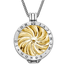 Obrázek è. 14 k produktu: Pøívìsek Hot Diamonds Emozioni Golden Windmill Coin