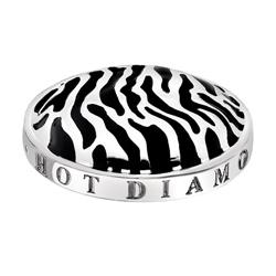 Pøívìsek Hot Diamonds Emozioni Zebra Coin