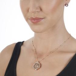 Obrázek č. 1 k produktu: Přívěsek Hot Diamonds Emozioni Faux Crocodile Light Brown Coin