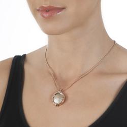 Obrázek è. 2 k produktu: Pøívìsek Hot Diamonds Emozioni Faux Ostrich Beige Coin