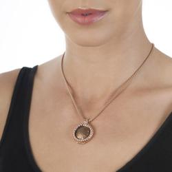 Obrázek č. 1 k produktu: Přívěsek Hot Diamonds Emozioni Faux Ostrich Brown Coin