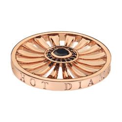 Pøívìsek Hot Diamonds Emozioni Art Deco Sunrise Rose Gold Coin