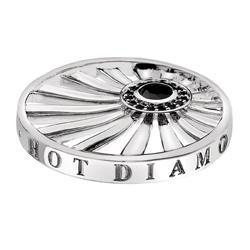 Pøívìsek Hot Diamonds Emozioni Art Deco Dawn Silver Coin