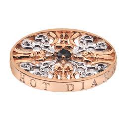 Pøívìsek Hot Diamonds Emozioni Victorian Silver and Rose Coin